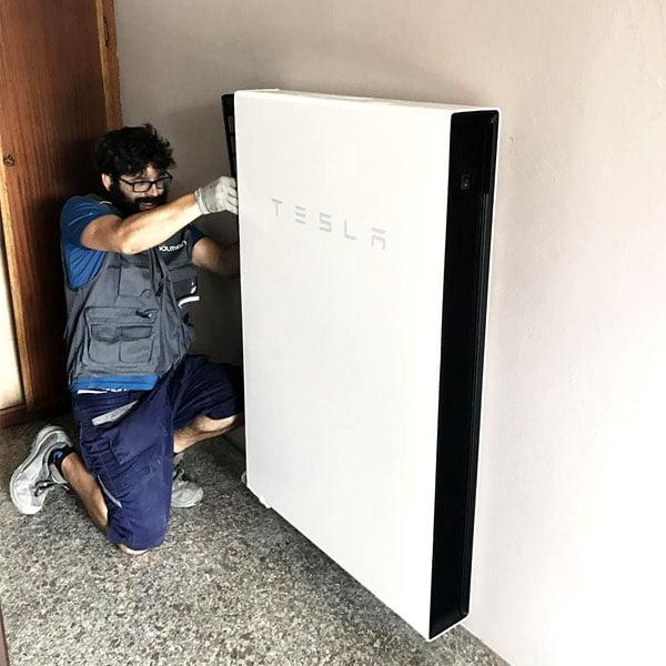 installazione sistema accumulo