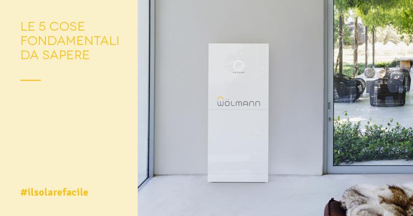 Batterie Accumulo Fotovoltaico: i migliori sistemi