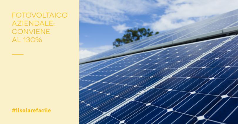 incentivi fotovoltaico 2019 per aziende