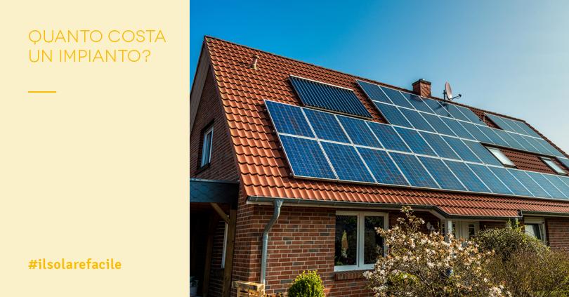 Fotovoltaico prezzi chiavi in mano