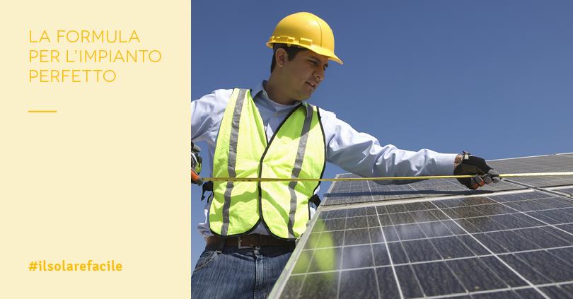 Dimensionamento impianto fotovoltaico: qual è la taglia giusta?
