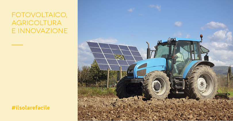 Fotovoltaico+Agricoltura: le 2 produzioni possono coesistere?