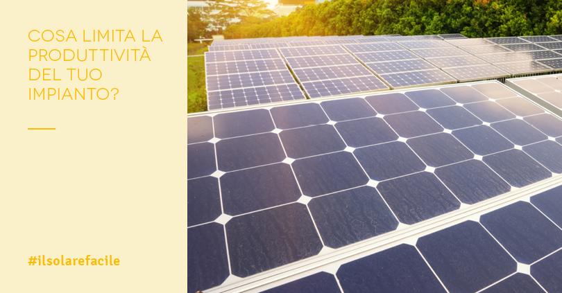 Fotovoltaico problemi zero: produzione garantita