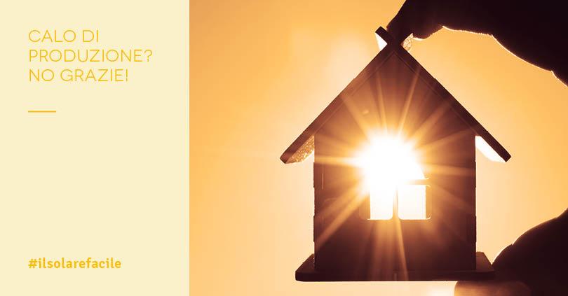 Produzione fotovoltaico: il falso mito del calo del rendimento