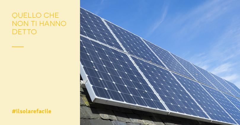 Pannelli fotovoltaici: chi ci guadagna?