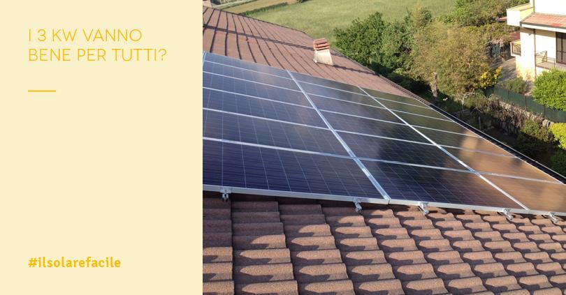 Pannelli fotovoltaici dimensioni per una famiglia media