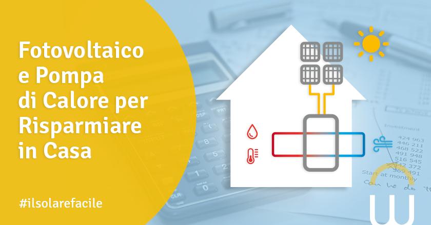 Fotovoltaico e Pompa di Calore per Risparmiare in Casa
