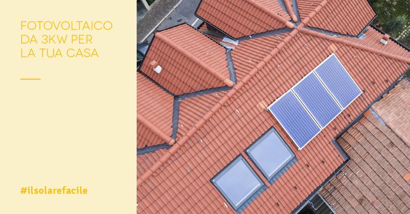 Impianto Fotovoltaico 3 kW: Costi e Garanzie per la tua Casa